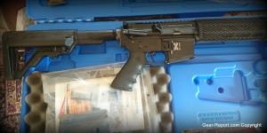 Rock River Arms LAR-300 X-1 rifle review - hogue pistol grip