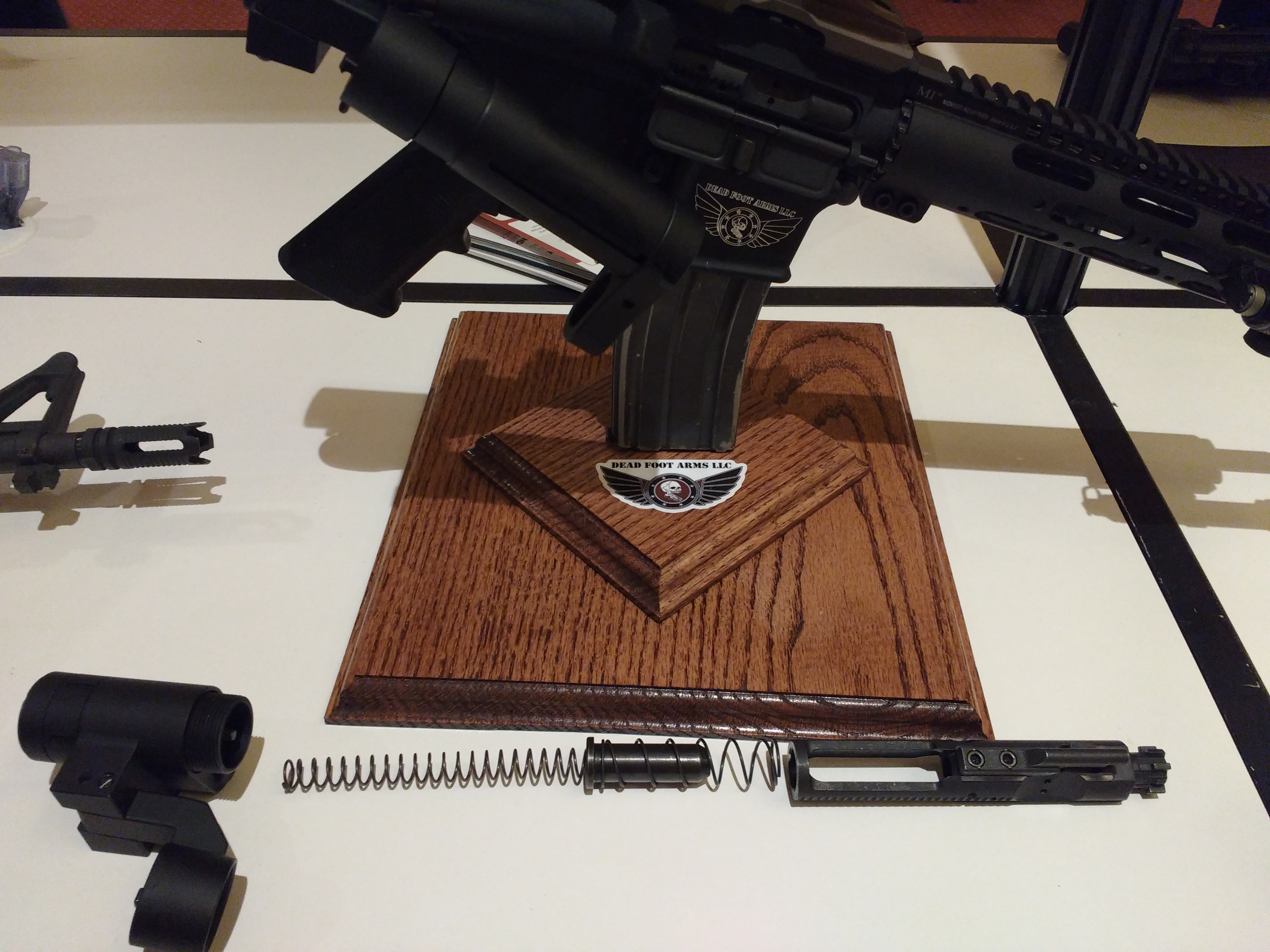 Dead Foot Arms MODIFIED CYCLE SYSTEM (MCS) Folding AR Stock - SHOT
