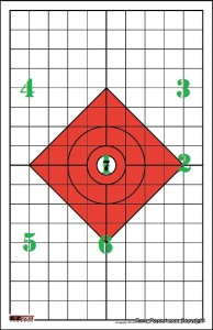 EZ2C shooting targets review - rifle targets style 14