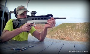 Otis ear shield Jeff shooting Mosin Nagant CBRPS bullpup