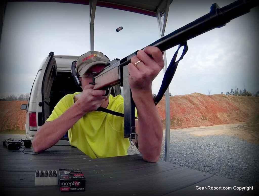 Otis ear shield Jeff shooting Suomi 31