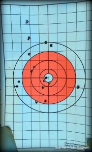 EZ2C shooting targets review - circle target