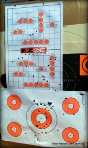 EZ2C shooting targets review - battleship target style 22