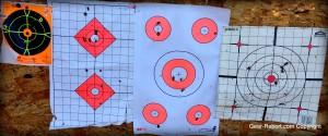 EZ2C shooting targets review - comparison