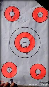 EZ2C shooting targets review - dart board target style 3