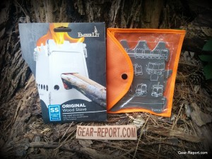 EmberLit wood stove review in package