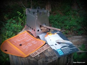 EmberLit wood stove review out of package