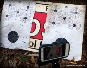 DIY wifi target camera