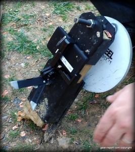DIY wifi target camera - cameral behind steel