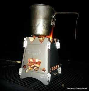 EmberLit wood stove review cooking