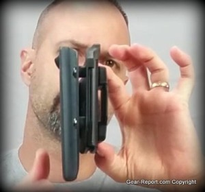 Alien gear holsters cloak MOD OWB holster review belt slide attachment
