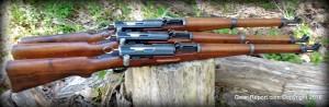 K31 Swiss 1944 karabiner rifle - Triplets