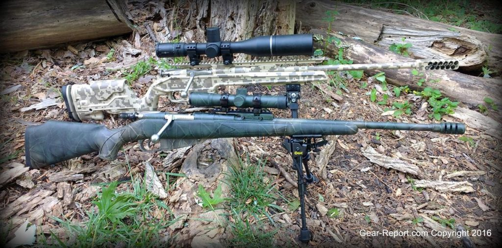 Brass Stacker Scout Scope Mount and L.E.R. Scope for Mosin Nagant - scout vs normal scope