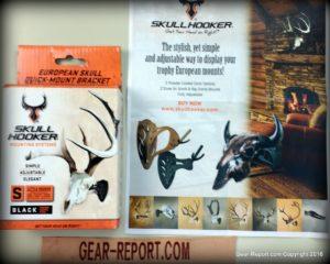 Skull Hooker Little Hooker European Mount Review- box info