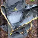 Cotopaxi Nepal 65L backpack review - main compartment zipper