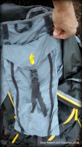 Cotopaxi Nepal 65L backpack review - Peak bag