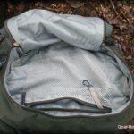 Cotopaxi Nepal 65L backpack review - Top pouch with key lanyard