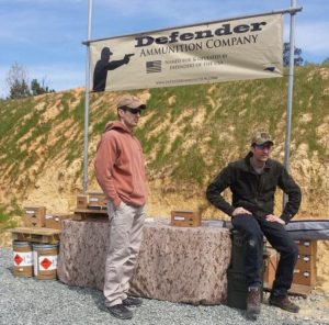 Defender Ammunition Company at the Gear Report Range Demo Day