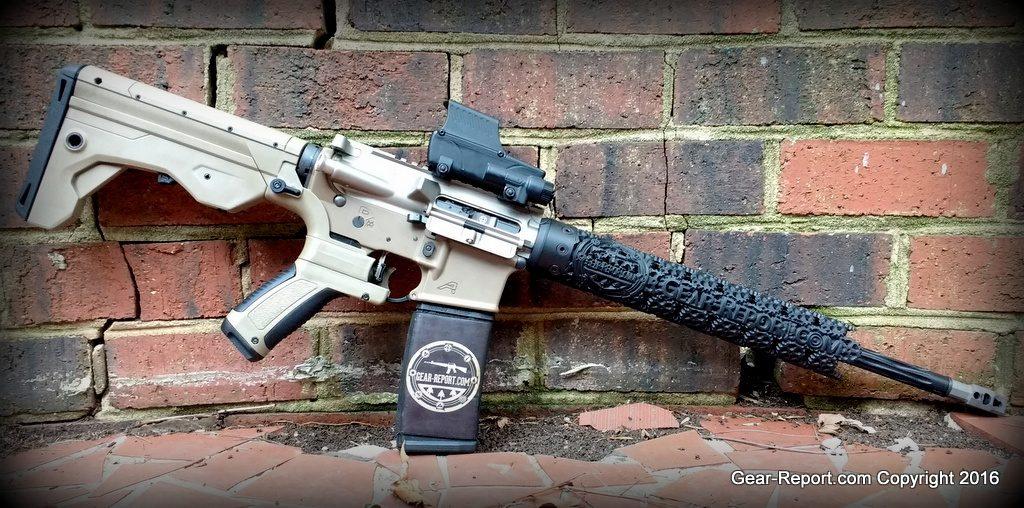 Gear-Report.com Custom AR15 build 2016 - Complete!