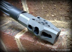 Gear-Report.com AR-15 custom rifle build 2016 - Witt Machine MRE Muzzle Rise Eliminator