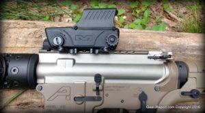 Gear-Report.com AR-15 custom rifle build 2016 - Meprolight Tru-Dot RDS PRO mil-spec red dot sight