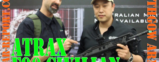Lithgow Arms Atrax Bullpup F90 Steyr AUG derivative rifle – NRA 2016 As the Gear Report team was literally walking out the door at the NRA Show for our 9 […]