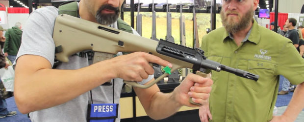 "Steyr AUG A3 M1 overview, takedown & reassembly – NRA 2016 No firearms industry show is complete for me until I find some bullpup rifles to fondle… I mean ""admire"". The […]"