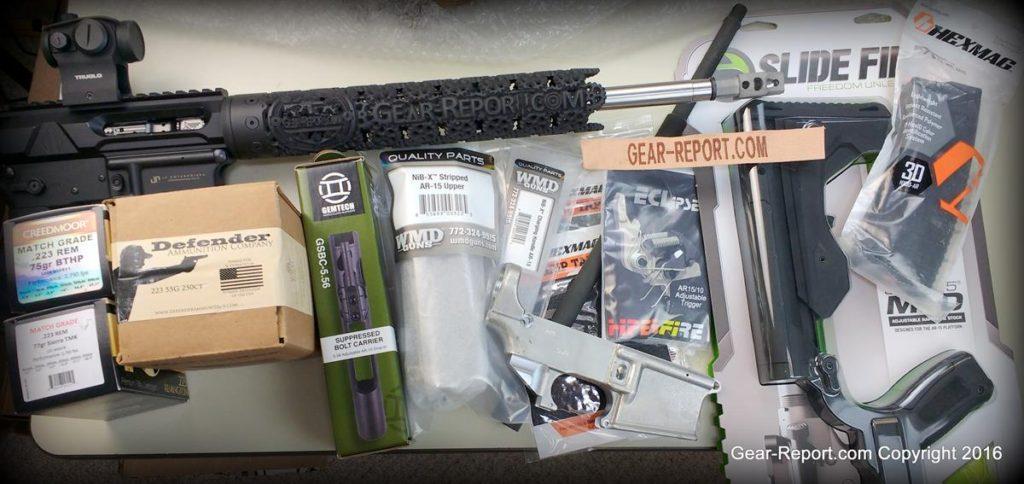 AR-15 Custom Rifle Build 2016