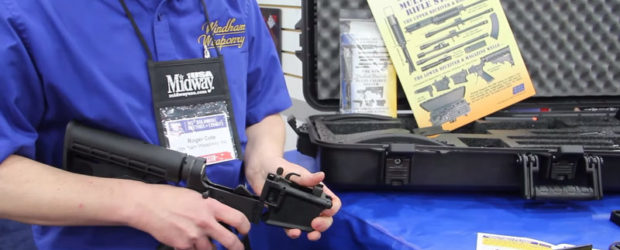 Windham Weaponry RMCS-4 Multi Caliber AR15 System – NRA 2016 – Gear-Report.com Roger from Windham Weaponry shows the MCS system (Multi-caliber Rifle System) that allows one serialized lower to be […]