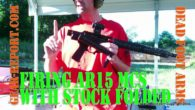 Shooting the Dead Foot Arms MCS AR15 Folding Stock – Review Jeff demonstrates the Dead Foot Arms Modified Cycle System (MCS) and T-Rex minimalist stock. Most AR15 folding stocks can […]