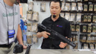 "Mark from Precision Firearms tells Jeff about the SBR ""Silent Night"" AR platform rifle, which can be configured as 9mm, 5.56, 300 BLK using the same serialized lower receiver. This […]"