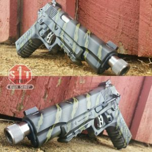 Custom Gun Coating by S&T One Stop Gun Shop - KG Gun Coat Tiger Stripe - instagram