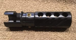 howling Raven mosin nagant muzzle Brake side view