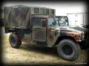 Project HMMWV Battlewagon: Surplus HMMWV from the US Army - right side