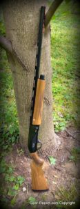 Escort Supreme Magnum Left Handed Shotgun Review - tree