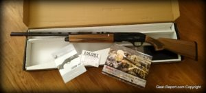 Escort Supreme Magnum Left Handed Shotgun Review - in box