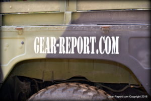 Gear-Report.com Project HMMWV Battlewagon -RR wheel well 1