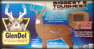 GlenDel Buck Full-Rut archery 3D target review - box