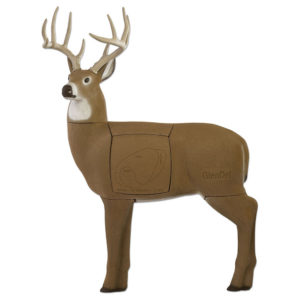 GlenDel Buck Full-Rut archery 3D target review - stock photo