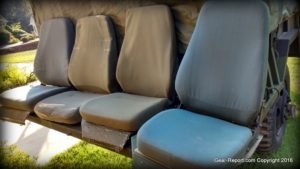 Gear-Report.com Project HMMWV Battlewagon - military high back HMMWV seats