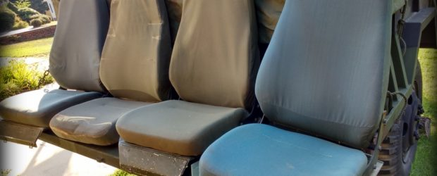 HMMWV Upgrade: Aftermarket Seats for Humvee HMMWV seats – I have tried 3 options, so far, and heard great reports on others that I'll list below: Stock military seats… which SUCK! […]
