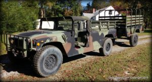 Gear-Report.com Project HMMWV Battlewagon - with M105A2 trailer