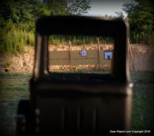 Meprolight Tru-Dot RDS PRO review - sight picture