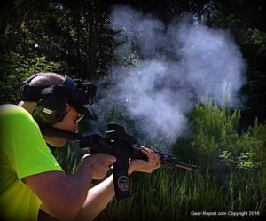 Meprolight Tru-Dot RDS PRO mil-spec red dot sight Review - Jeff shooting