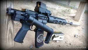 Meprolight Tru-Dot RDS PRO mil-spec red dot sight Review - Testing Defender Ammo