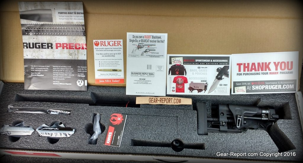 2016 Ruger Precision Rifle 6.5 Creedmoor - First Impressions Review - unboxing
