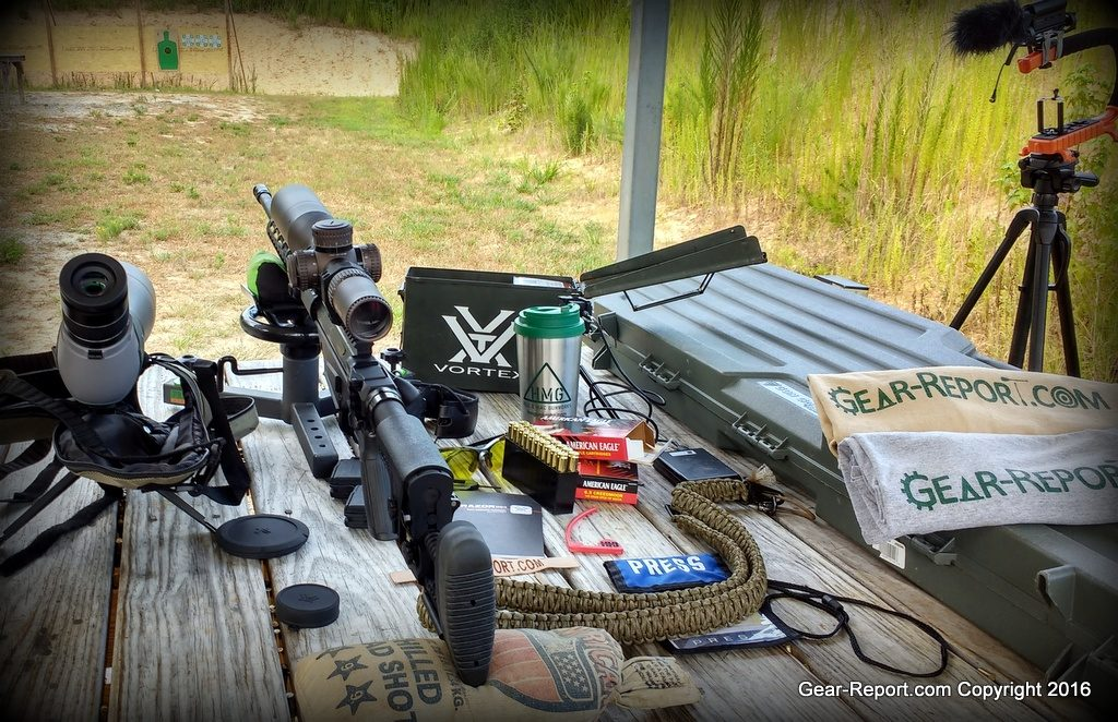2016 Ruger Precision Rifle 6.5 Creedmoor - First Impressions Review -Shooting setup