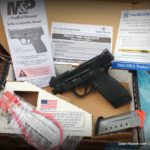 Smith & Wesson M&P 45 Shield Review - in the box