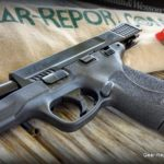 Smith & Wesson M&P 45 Shield Review - slide open