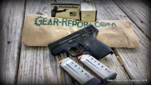 Smith & Wesson M&P 45 Shield Review - display shot